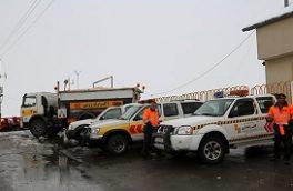 تمهیدات راهداری برای بارش برف و باران و وقوع سیلاب از ساعات پایانی امروز
