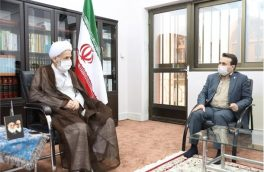 دیدار مدیران بندر امیرآباد با نماینده ولی فقیه در مازندران