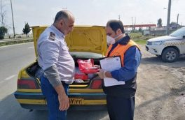کسب رتبه اول مازندران دراجرای طرح کنترل و نظارت بر وسایل نقلیه عمومی