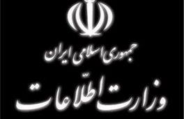وزارت اطلاعات: او بهدلیل تشدید بیماری و دلایل انسانی آزاد شد