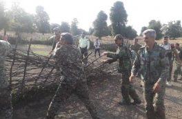 خلع ید ۲۸ هکتاری اراضی متصرفی ملی در شهرستان میاندرود