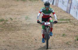 پرتوآذر در دوچرخه سواری کوهستان قهرمانی جهان چهل و نهم شد