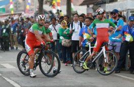 ناکامی دوچرخهسواری ایران در استقامت جاده بازیهای آسیایی/ هشتمی صفرزاده بهترین جایگاه ایران