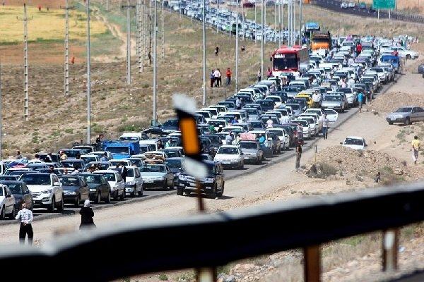 محدودیت تردد در آزادراه قم به تهران