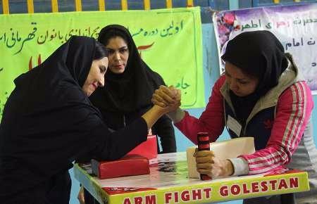 کرمانشاه میزبان اولین دوره مسابقات مچاندازی بانوان کشور شد