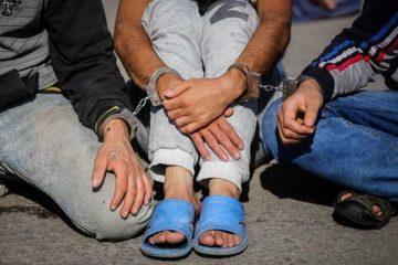 قمه کشان مسعودیه دستگیر شدند
