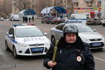 بازداشت راننده تاکسی که عابران را در مسکو زیر گرفت