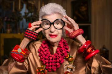 خانم استایلیست ۹۶ ساله با سبکی خاص و منحصر به فرد!