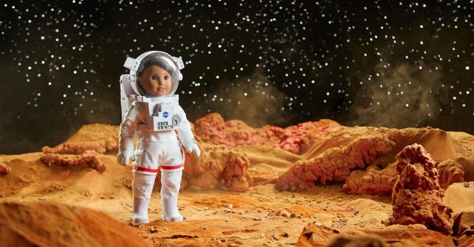 عروسک دختر سال آمریکا در سال ۲۰۱۸ برای سفر به مریخ آماده هم میشود!