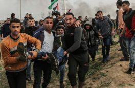 یک شهید و ۸۶ زخمی در تظاهرات جمعه خشم فلسطین